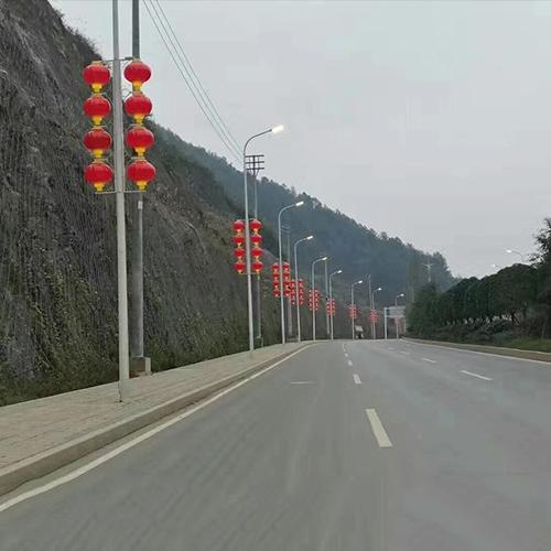 广东省梅州市中国结亮化工程